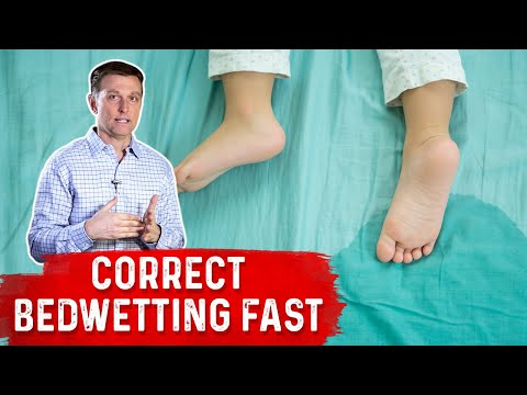 Correct Your Child's Bedwetting Problem Doing This....
