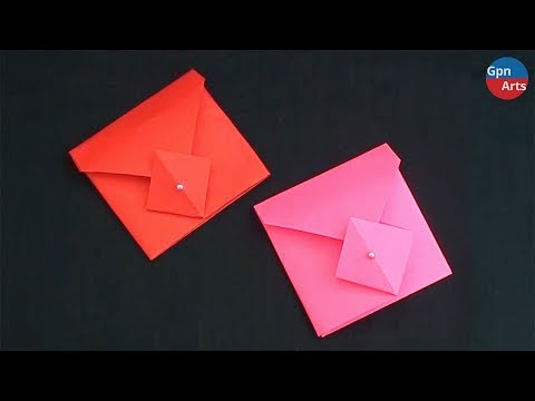 Easy Paper Envelope Making   DIY Simple Crafts