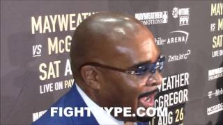 LEONARD ELLERBE PRAISES CONOR MCGREGOR'S SWAG; CAN HE AND MAYWEATHER BE FRIENDS AFTER THE FIGHT?