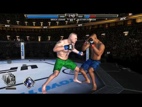 Brock Lesnar (Champion Edit) Fighter Showcase UFC EA SORTS ANDROID