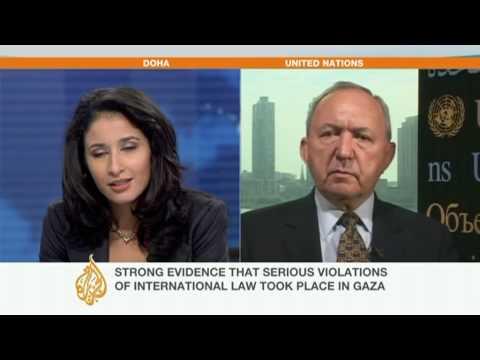 Judge Richard Goldstone Speaks To Al Jazeera - 15 Sept 09