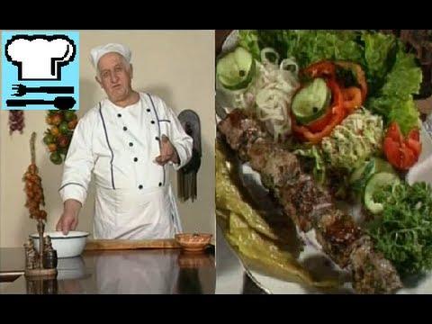 Шашлык. Как замариновать мясо? Грузинская кухня. Рецепт ТВ.