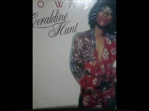 Geraldine Hunt, Can't Fake The Feeling (Funk 1980) Full HD !