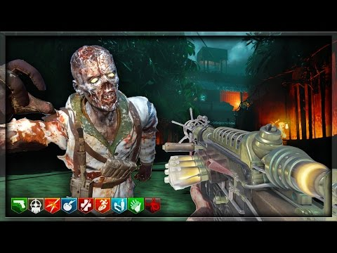 "DIE TOTEN AN LAND ""CRAZY CUSTOM ZOMBIES MAP & NO PERK LIMIT"" (Black Ops 3 Custom Zombies)"