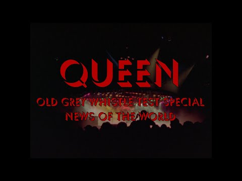 News Of The World (OGWT) - Queen Special 1977 [HD]