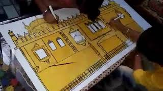 Harmandir sahib made by three friends