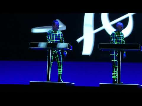 KRAFTWERK: Music Non Stop - band leaving the stage (Live in Riga, Latvia on Feb 18, 2018) 4K