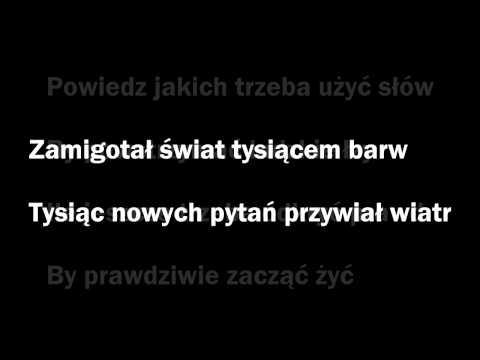 Varius Manx Zamigotał świat - Lyrics - Tekst - Karaoke