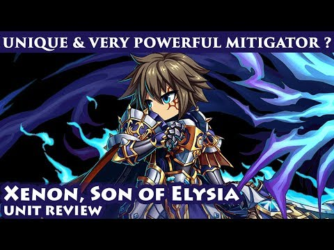 Omni Xenon, Son of Elysia Unit Review (Brave Frontier Global)