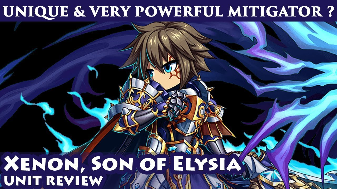 Omni Xenon, Son of Elysia Unit Review (Brave Frontier Global)