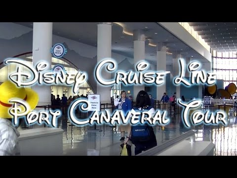 Port Canaveral Tour for Disney Cruise Line Vacation!