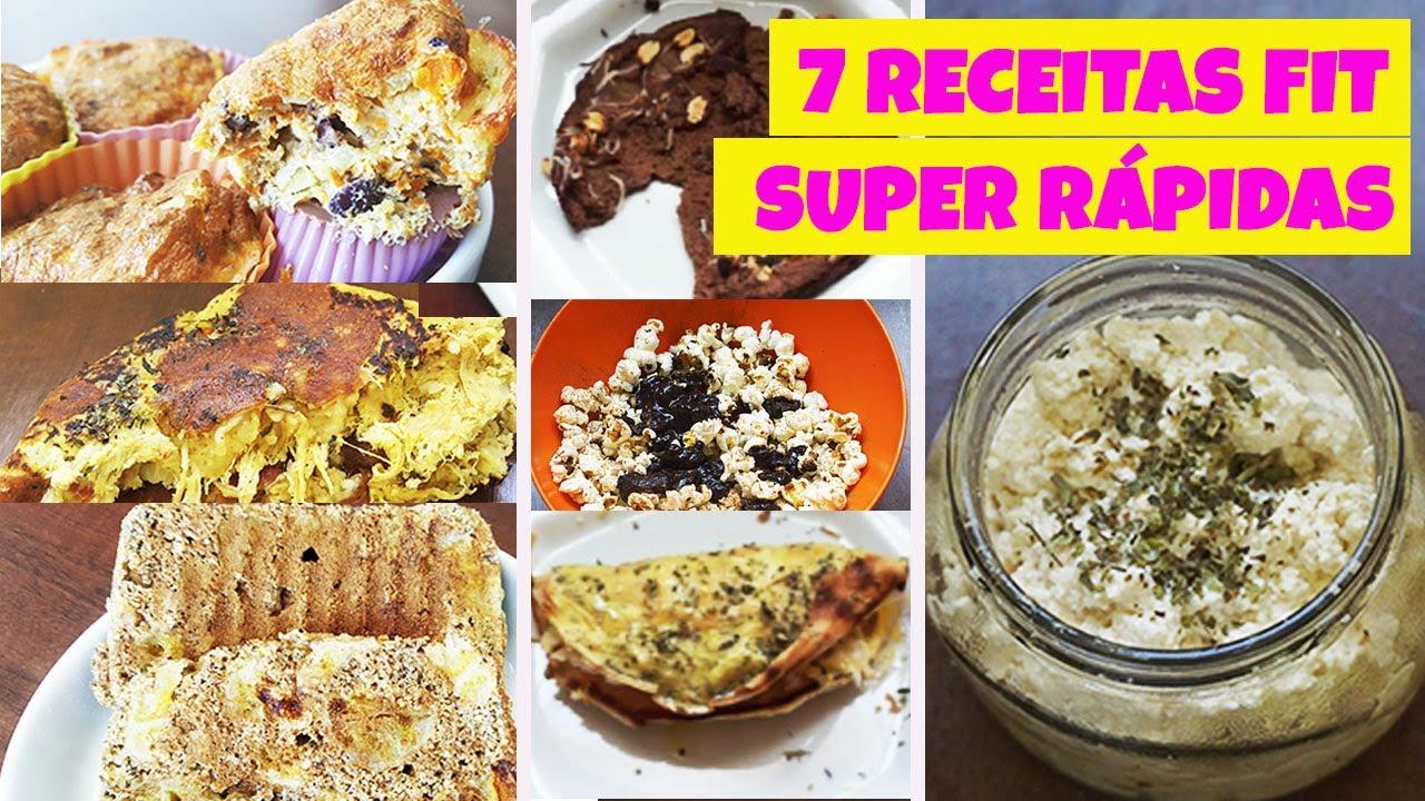 7 Receitas Fit Rápidas E Gostosas Receitas Saudáveis