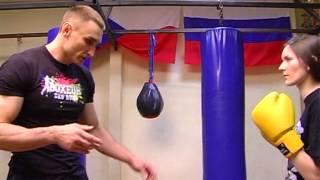 Тайский бокс  Тренировки для девушек  Часть 2(Сюжет программы