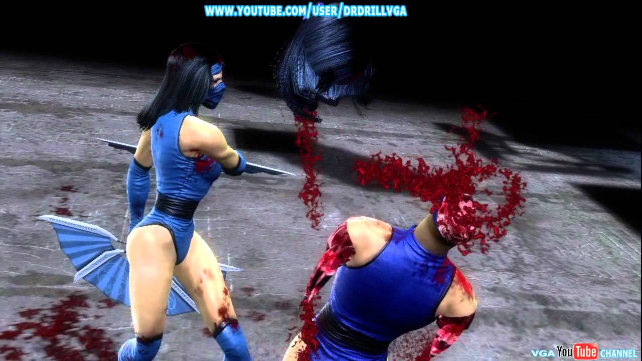 Kitana Mk2 Mortal Kombat 9 Klassi...