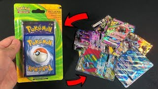 I pulled an ULTRA RARE GX Pokemon Card in EVERY PACK while opening WEIRD MYSTERY BLISTERS!
