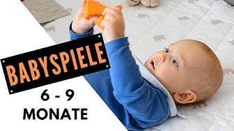 PEKiP UND BABYSPIELE für 6-9 Monate alte Babys | BESCHÄFTIGUNGS- und SPIELIDEEN für BABYS  6-9 M.alt