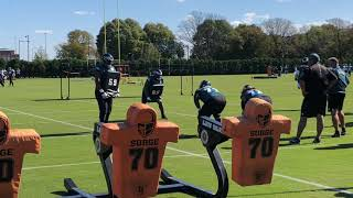 Eagles' Jason Peters practices with biceps injury thumbnail