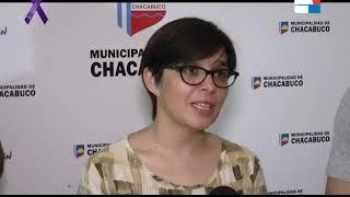 GABRIELA BELFORTTI   EL HOGAR SAN JOSE SE REUNIO CON EL INTENDENTE MUNICIPAL