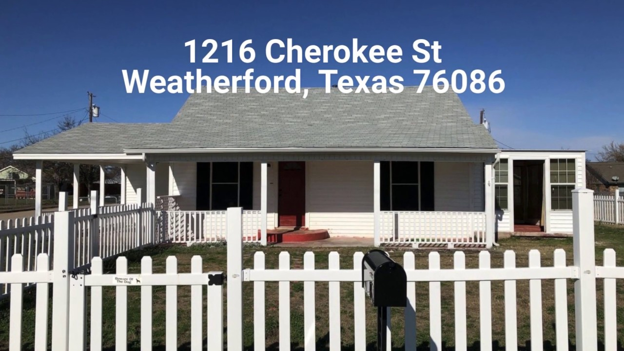 Rental Home in Weatherford TX | www.OwnATexasHome.com