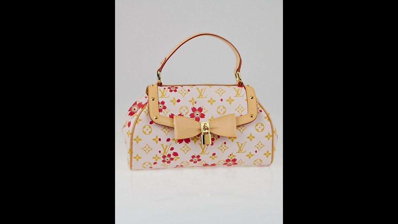 1427c2b015b2 Naked Purse Lady Ep 4  Louis Vuitton Murakami Cherry Blossom Sac Retro