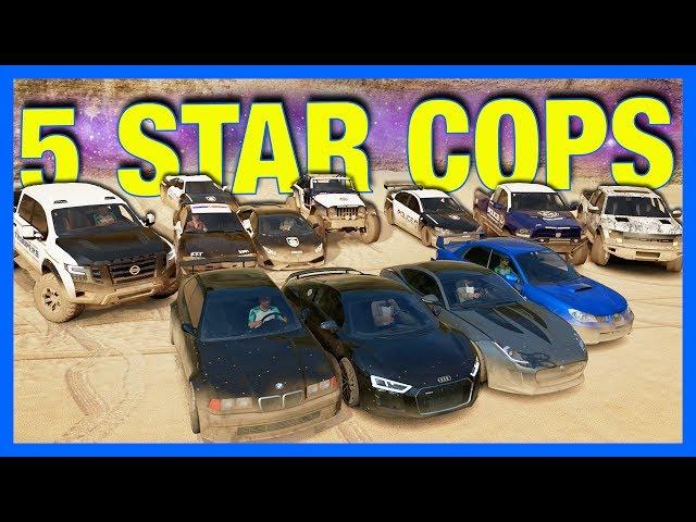 Forza Horizon 3 Online : 5 STAR COPS!!