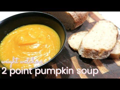 Weight watchers 2 point pumpkin soup recipe youtube weight watchers 2 point pumpkin soup recipe forumfinder Choice Image