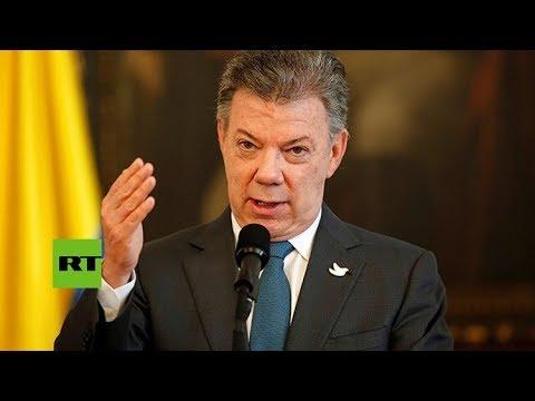 Presidente Juan Manuel Santos oficializa desarme definitivo de las FARC en Colombia