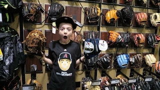 New Baseball Glove Shopping