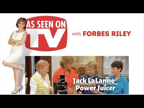 Forbes Riley Hosts Jack Lalanne Power Juicer Infomercial