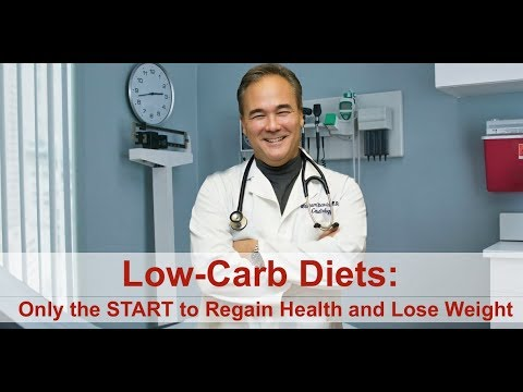 Low-carb Diets: Only The START To Regain Health And Lose Weight