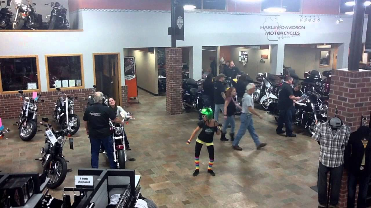 harlem shake (harley-davidson of appleton, wi style) - youtube
