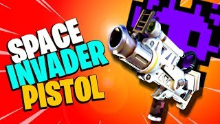 PEW! PEW! Space Invader Pistol | Fortnite Save the World PvE