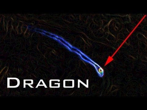 Strange Dragon like Object in NASA Pograph