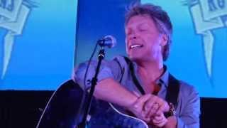 "Jon Bon Jovi  ""Have a Little Faith In Me"" San Diego Runaway Tours 2014"