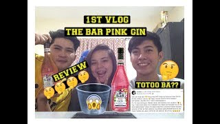 The Bar Pink Gin | Review| Emperorse Vlog 1