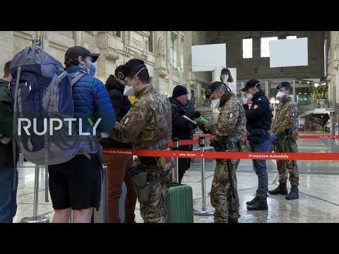 LIVE: Italy on lockdown amid coronavirus outbreak