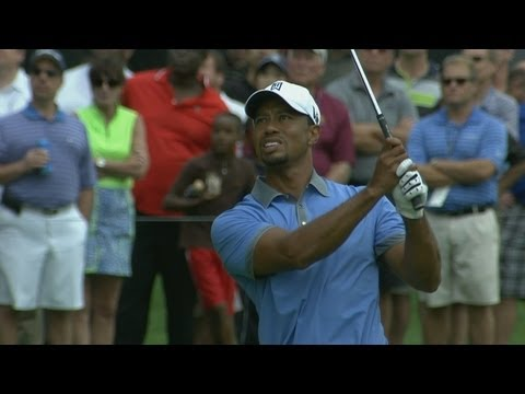 Tiger shoots 61 in Round 2 of Bridgestone Invitational