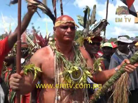 Nominations in Papua New Guinea can become large cultural events