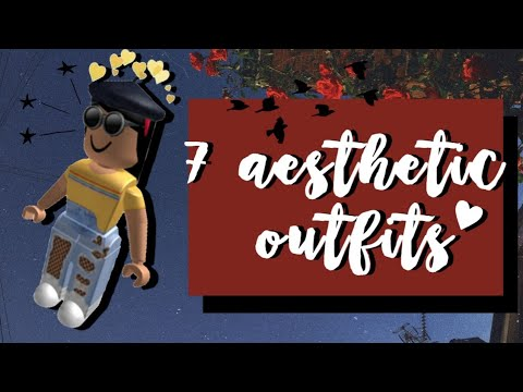 7 Aesthetic Roblox Outfit Ideas 」* YouTube