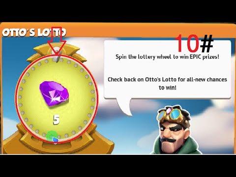 Spin the wheel ! Otto's Lotto - dragon mania legends