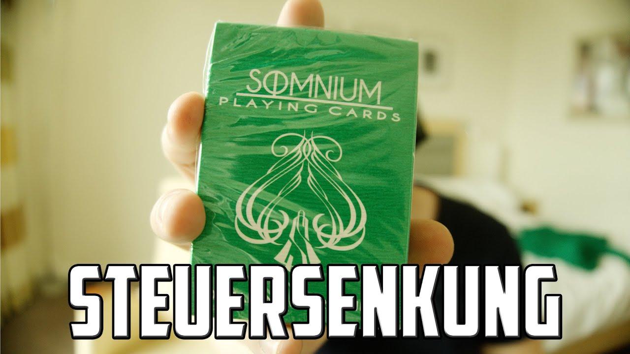 Somniumcards ab morgen GÜNSTIGER - Mehrwertsteuer-Senkung