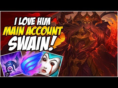 I LOVE SWAIN! PHASE RUSH IS KING - Climb to Master S8 | League of Legends
