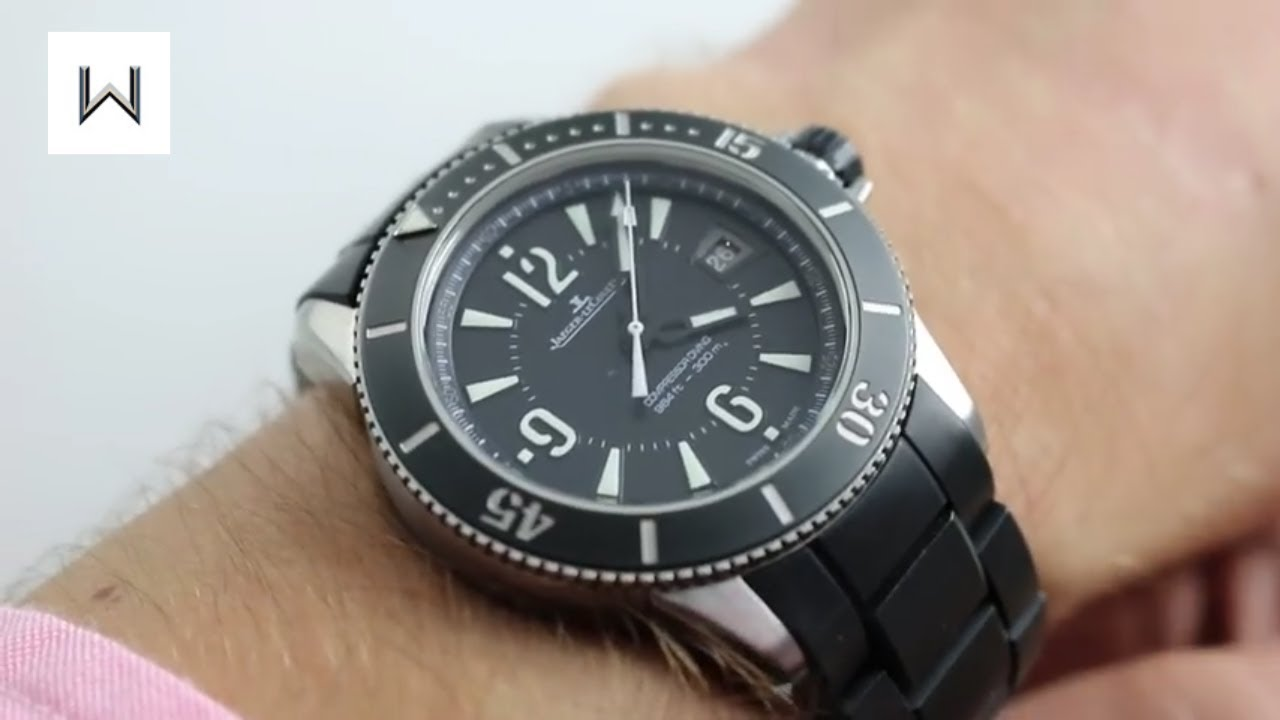 Jaeger-LeCoultre Master Compressor Diving Navy SEALS Ref  Q2018670 Watch  Review