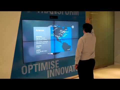 AVM Vision  Interactive Visitor Center Examples