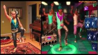 Lean Wit It, Rock Wit It (DLC) - Dance Central Hard Gameplay 100% with MMC