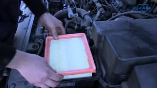Peugeot 206 hdi - Remplacement du filtre à air