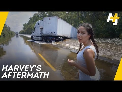 Inside The Homes Destroyed By Hurricane Harvey | Direct From With Dena Takruri - AJ+