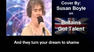 I DREAMED A DREAM   Les Miserables   SUSAN BOYLE COVER   Britains Got Talent Powerful   Video   Copy 2