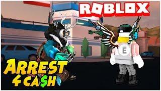 Roblox Jailbreak Live 🔴|Arrest me for Free CASH!! 💸|Come join me! 😄