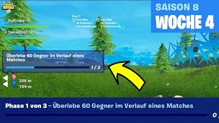 Survive 60 opponents in the course of a match bug! Fortnite Week 4 Errors! [ENGLISH]